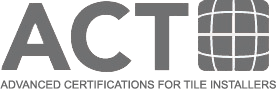 ACT Advanced Certifications for Tile Installers